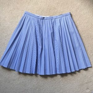 J.Crew pleated cotton skirt EXCELLENT condition